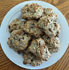 More Than Mommy: Oatmeal Banana Cookies with Chocolate Chips