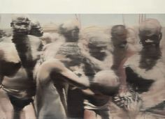 Gerhard Richter, Negroes(Nuba)1964 145 cm x 200 cm