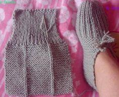genial Strickwaren Frauen Stiefel awesome Knitwear Women Boots – Beauty Tips & Tricks Crochet Socks, Easy Crochet, Crochet Baby, Knit Crochet, Easy Knitting, Loom Knitting, Knitting Socks, Knitted Booties, Knitted Slippers