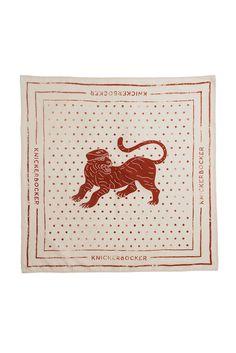 B. Kocinski Souvenir Tiger Bandana | Knickerbocker Manufacturing Company