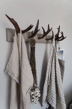 Deer Antler Crafts, Low Budget Decorating, Long House, Trophy Rooms, Boho Designs, Diy Interior, Home Pictures, Home Living Room, Room Inspiration