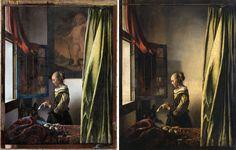 Rembrandt, Delft, Dresden, Johannes Vermeer, Paul Gauguin, Vermeer Paintings, Pieter De Hooch, Restore Paint, Flower Mural