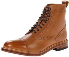 $145, Tan Leather Boots: Stacy Adams Madison Ii Chukka Boot. Sold by Amazon.com. Click for more info: https://lookastic.com/men/shop_items/306664/redirect