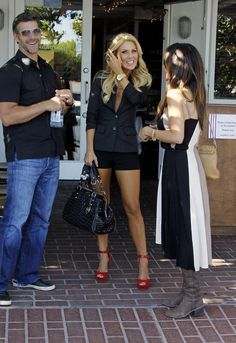 Gretchen Rossi - Gretchen Rossi and Slade Smiley See Robin Antin at Mauros