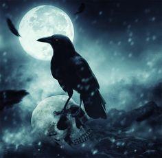 Photomanipulation le corbeau de la mort dans ce nouveau tuto photoshop nous allons réaliser un montage photo la Photomanipulation le corbeau de la mort