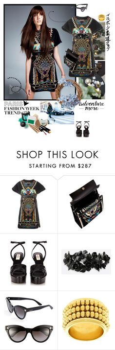 """""""**TOUR DE FRANCE**"""" by mercanici ❤ liked on Polyvore featuring Valentino, Monday and Chaumet"""