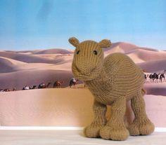 Zahara - Knitted Camel Pattern