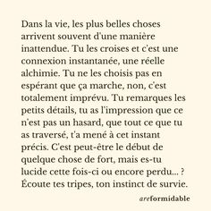 French Quotes, Self Motivation, Good Mood, Motivation Inspiration, Beautiful Words, Words Quotes, Cool Words, Sentences, Love Him