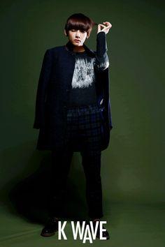 V in Kwave Digital Magazine December 2014 - BTS
