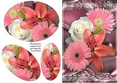 flowers and music on Craftsuprint - Add To Basket!