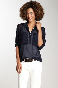 MiH Jeans  Yves Shirt (sometimes white just pulls it all together<3)