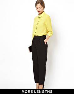 Fashion Find:  Love these ASOS Clean Peg Pants! -->http://bit.ly/1doeHkX