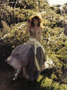 A private world   Alice Gibb, Sunniva Stordahl by Tim Walker   Vogue Italia November 2008