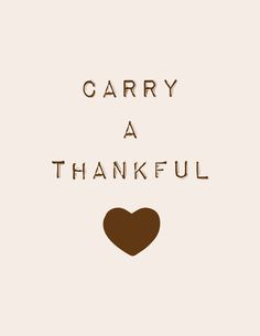 carry a thankful heart thanksgiving printables