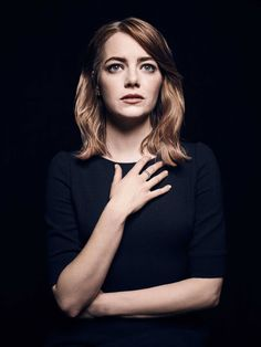 """Emma Stone by Brie Larson: TIME 100. Click on """"read it"""" and read it"""