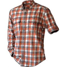 Men's Crosscut Performance Flannel Shirt - Duluth Trading Company