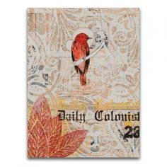 Dolan Geiman: Vermilion Tea (Box Print)