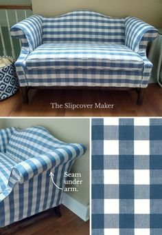 4 Tips for Designing Your Buffalo Check Slipcover