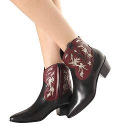 Black Rock 40 cowboy ankle boots