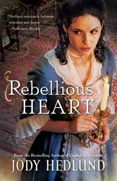 "New release by author, Jody Hedlund   give-away  at her Writes of Passage  blog on Facebook. Check it out. I  did.  ""Rebellious Heart"""