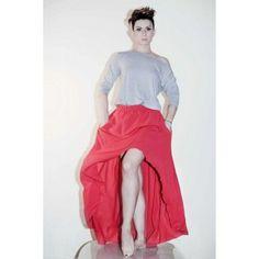 Agi Jensen - A long asymetrical skirt