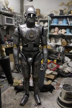 Have you still remembered that incredible steampunk Iron Man costume? Now we'll show you Tin Man, the grandfat Steampunk Movies, Steampunk Robots, Style Steampunk, Steampunk House, Steampunk Cosplay, Steampunk Design, Steampunk Fashion, Bioshock, Wild West