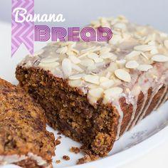 Rezept für Banana Bread / Bananenbrot vegan