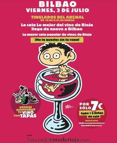 Venticuatro bodegas de Rioja ofrecen el viernes 3 de julio sus mejores vinos en Bilbao