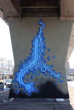Awesome street art from Brazil by ZEZÃO