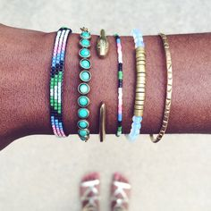 Image of Surf Bracelets - by, On the Look Out jewelry