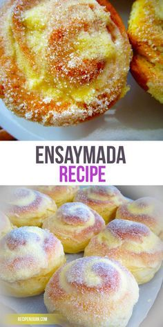 Recipe Filipino Sweet Buns This Ensaymada recipe includes flour cheese butter honey salt water white sugar and cheddar cheese in its list of ingredients With these kind o. Brownie Desserts, Asian Desserts, Creative Desserts, Filipino Dishes, Filipino Desserts, Filipino Food, Pinoy Dessert, Hawaiian Dessert Recipes, Desert Recipes