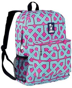 ad5203a6dd98 Snap to your day with the Wildkin Twizzler Crackerjack Backpack. Featured in  an assortment of colors and patterns