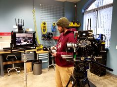 About Us - Rule Boston Camera Feature Film, Anton, Workplace, Monitor, Lenses, Sony, This Is Us, Future, Future Tense