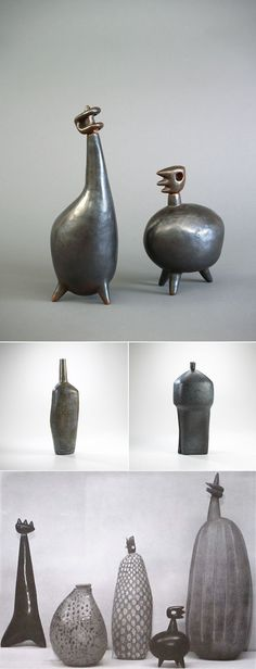 Mondays Muse and Cat Lover: Mid-Century Modernist Ceramicist Leza McVey