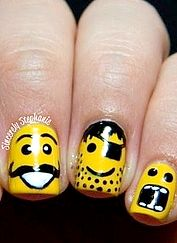 Fun LEGO nails!