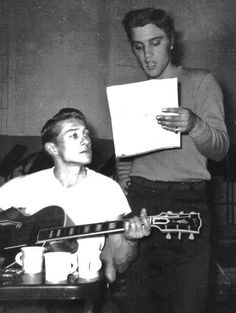 Elvis & Scotty Moore - September 2, 1956 Radio Recorders - West Hollywood, California