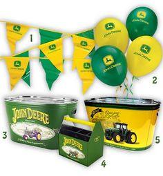 John Deere Birthday - possible idea for Carters 4th bday since hes obsessed with tractors :)