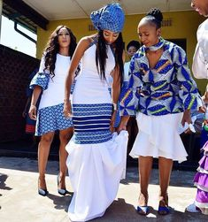 Beautiful women's shweshwe dresses for Summer Concerts, African women always strive to be at the highest levels of style, African Dresses For Women, African Print Dresses, African Print Fashion, African Fashion Dresses, African Women, Ankara Fashion, Women's Fashion, African Prints, Fashion Styles