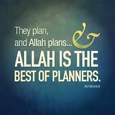 auzubillah: Allah is the best of planners… // planen im islam Allah Quotes, Muslim Quotes, Quran Quotes, Me Quotes, Hindi Quotes, Allah God, Allah Islam, Islam Quran, Beautiful Islamic Quotes