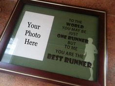 Items similar to You Are the Best Runner Photo Matte on Etsy Charity Run, Medal Holders, Good Things, Etsy, Ideas, Thoughts