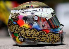 2016 Sean Gelael's Helmet