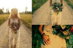 Bohemian Wedding /// Beargrass Gardens Floral & Events - Montana Weddings & Events/// Lindsey Jane Photography