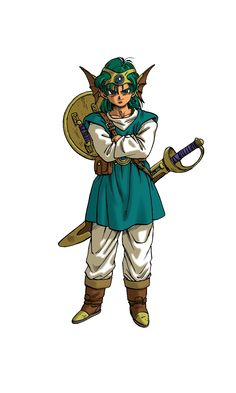 Dragon Quest 9 Hero | Dragon Quest IV: Chapters of the Chosen