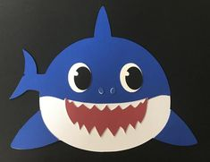 Ocean Art Projects For Toddlers Under The Sea Trendy Ideas Toddler Art Projects, Toddler Crafts, Preschool Crafts, Shark Face Painting, Summer Crafts For Toddlers, Shark Craft, Shark Decorations, Sea Crafts, Shark Party