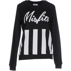 Zoe Karssen Sweatshirt ($96) ❤ liked on Polyvore featuring tops, hoodies, sweatshirts, black, long sleeve tops, long sleeve sweatshirt, zoe karssen, zoe karssen sweatshirt and black sweatshirt