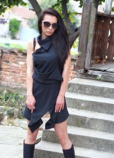 Hey, I found this really awesome Etsy listing at https://www.etsy.com/listing/481485569/extravagant-black-dressblack-party