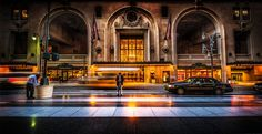 I took this photo right after the photowalk in New York City a few weeks ago! I emerged from Grand Central Station and was about to walk across the street when I saw this scene. That guy was still as a statue, checking his phone while the world went on around him. - New York City, New York - Photo from #treyratcliff Trey Ratcliff at http://www.StuckInCustoms.com