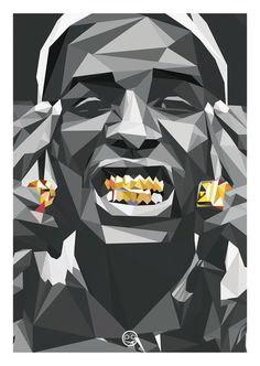 As soon as possible Rocky Illustration Schwarz by ErhanEvin20 - A$AP