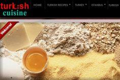 Tuürk Mutfağı Portal Web Sitesi  www.theturkishcuisine.com