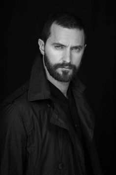 """A man without a mustache is like a cup of tea without sugar."" Old English Proverb~~~Richard Armitage"